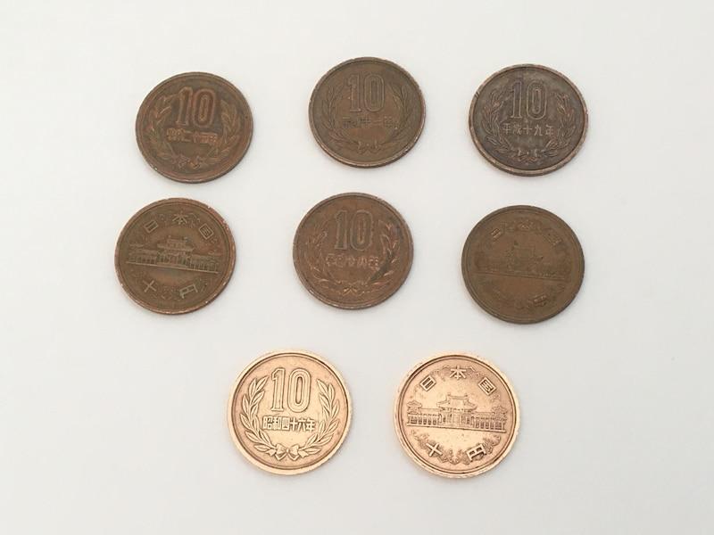 ピカールで10円玉を磨いてみた