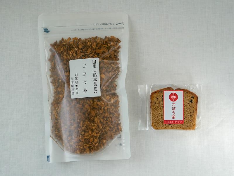 一番人気の国産健康茶「ごぼう茶」と合わせて食べたい!