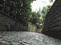 神楽坂、自分だけの石畳、裏路地散策