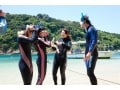 宮崎の透き通った海で「シュノーケリング体験」