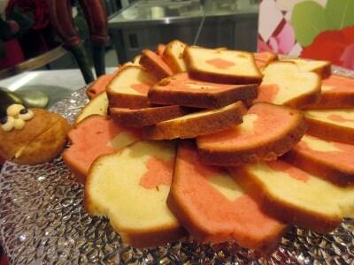 樹林トランプ柄のパウンドケーキ