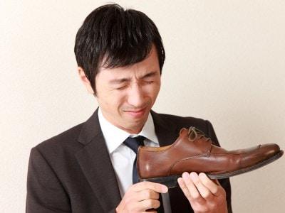 1日履いた靴のニオイは結構強烈……
