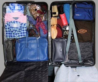 104Lは大きめのバッグも入って8~10泊も可能な大容量サイズ