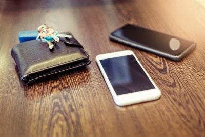 絶対になくしたくない財布、鍵、スマートフォン……