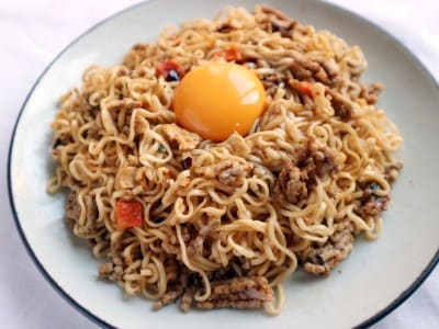 ガパオ,ママー,インスタント麺