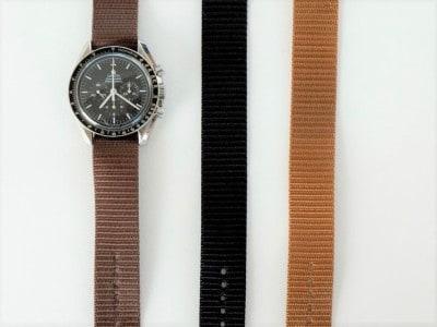 ミリタリーブラウン、ブラック、デザートタンの3色が用意されている。