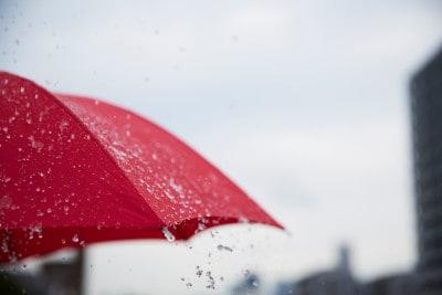 傘への防水スプレーの効果