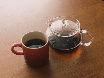 マグカップで紅茶を飲むときも。