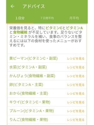 レシピを見るをクリックすると、cookpadのレシピを紹介するページへリンクされています