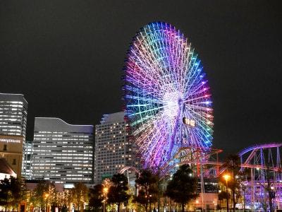 GM5購入後、初めての夜景撮影は、横浜の定番夜景スポット「みなとみらい」でした!(2016年4月5日撮影)
