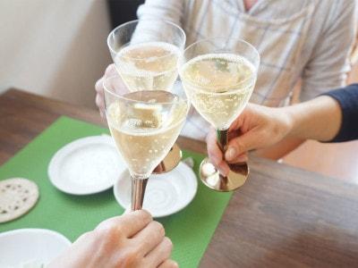 mozaik(モザイク)プラスチックワイングラス
