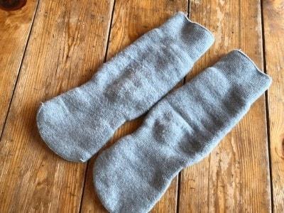 靴下2枚履きからさよならをさせてくれた、もちはだの靴下