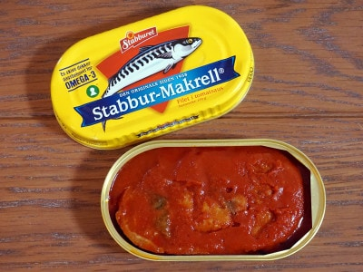 Stabbur-Makrell(スタブラ サバフィレ/鯖のトマトソース煮)