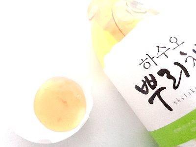 ハスオなどの韓方配合のシャンプー