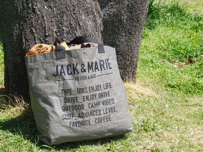 JACK&MARIEフリートートバッグ