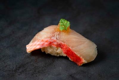 金目鯛の氷結熟成寿司