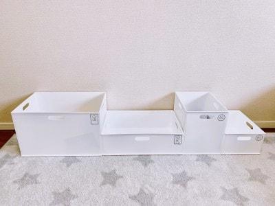 ニトリのインボックスは全4サイズ