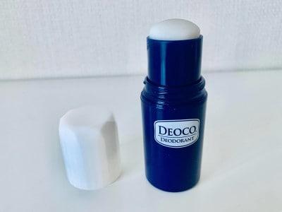 ロート製薬から発売のDEOCOスティックタイプ。さらっとした肌触りが心地よい!