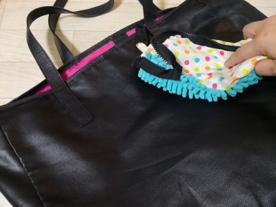 雑巾代わりになるSUSU傘ケース