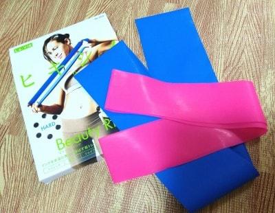 柔らかく使いやすい2種類のゴムリングがセットになっており、ブルーは強度が高めです