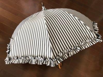 日傘,完全遮光日傘,紫外線防止,紫外線,日焼け
