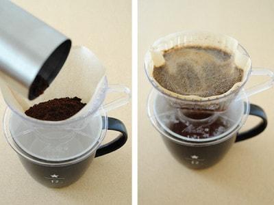 どこでも挽きたてが飲める手動コーヒーミル
