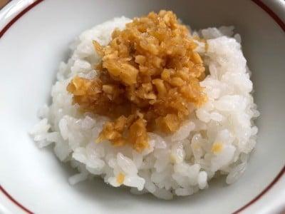 ご飯はもちろんのこと、うどんや豆腐との相性もいい