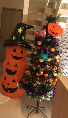 ハロウィン,オーナメント,クリスマスツリー