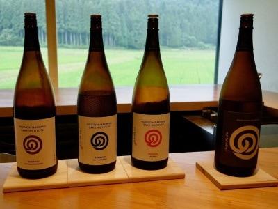 農口尚彦研究所のYAMAHAI3種と純米酒