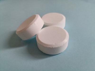 1回の入浴で3錠使用が適量