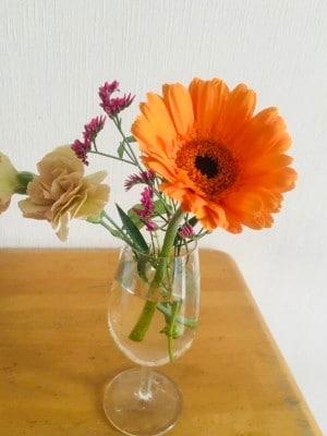 リビングが華やかに。お花のある暮らし