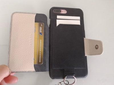 お財布iPhoneケースRAKUNI