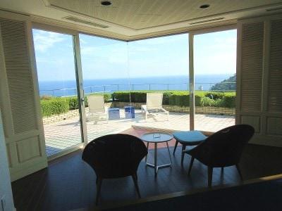 星野リゾートリゾナーレ熱海全室オーシャンビューで圧倒的な眺望。テラスが設けられている部屋も