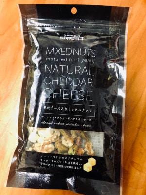 味付けはチーズだけ。ぐわっと広がる旨味と風味