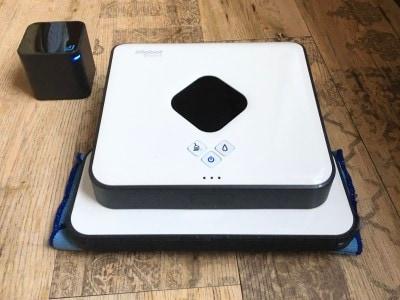 ブラーバ380jアイロボット床拭きロボット簡単操作水拭き・乾拭き急速充電落下防止