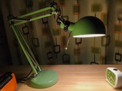 IKEA/FORSAフォルソーワークランプ。ミッドセンチュリー感
