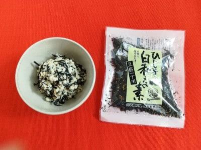 木綿豆腐1丁と混ぜるだけ。「山忠 簡単ひじき白和えの素」はカルディでお求めになれます