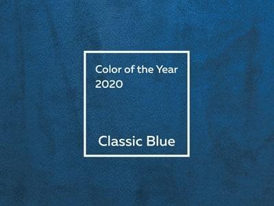 2020年トレンドカラーはクラッシック・ブルー
