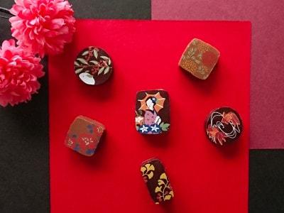 ひとつひとつがアーティスティックな京都別邸のショコラ
