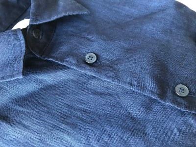 同色のボタンが高級感を増してくれている
