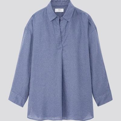 ユニクロ「プレミアムリネンシャツ(長袖)」