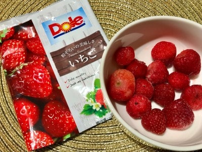 Doleの「冷凍フルーツいちご」