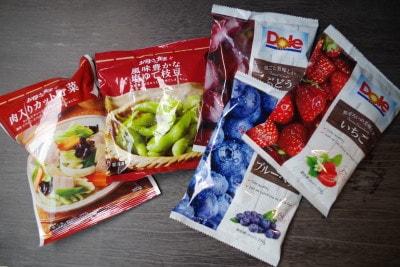 「素材系」の冷凍食品が充実しているファミマ