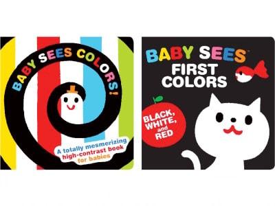 『あかあかくろくろ』は『BabySeesFirstColors』というタイトルで北米でも出版されています