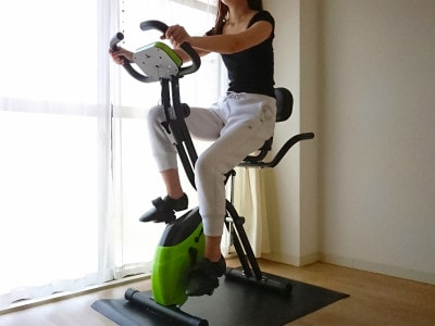 自宅で気軽にエクササイズ!HAIGEエアロフィットネスバイク