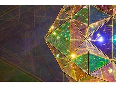 オラファー・エリアソン《太陽の中心への探査》部分 2017年  「オラファー・エリアソン ときに川は橋となる」展示風景(東京都現代美術館、2020年) 撮影:福永一夫  Courtesy of the artist and PKM Gallery, Seoul © 2017 Olafur Eliasson