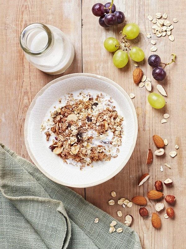 栄養素 オートミール インスタントオートミールの栄養素・カロリー