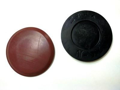 カグスベールの重量用、直径70mm、厚みは7mm