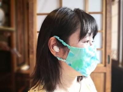 サクラスリングマスク着画